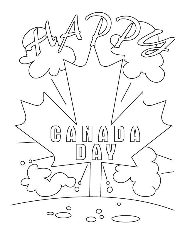 Canada Flag Drawing