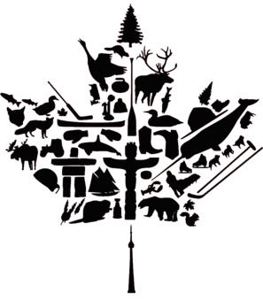 297x340 Canadian Flag (National Symbols) Pictures Symbols