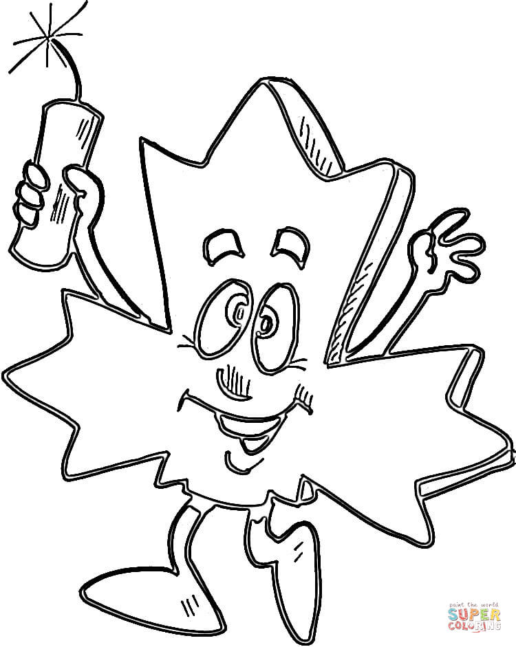 750x941 Maple Leaf Coloring Page Free Printable Pages