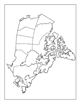 Canada map drawing at getdrawings free for personal use canada 270x350 canada map assignment gumiabroncs Gallery