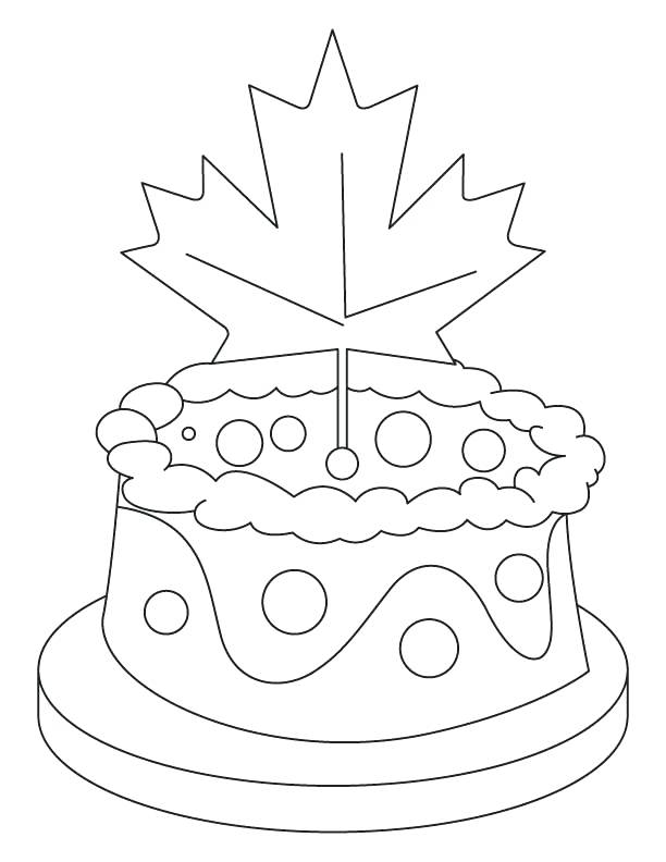 612x792 Coloring Canada Flag Day Coloring Pages Coloring Picture
