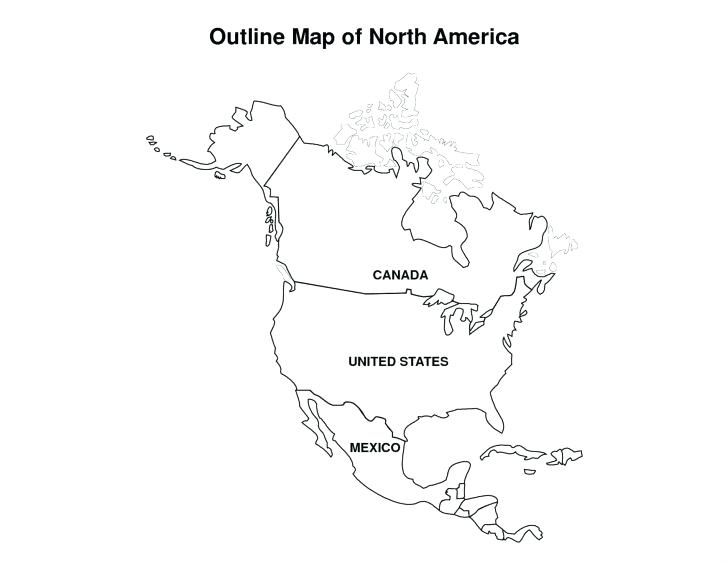 728x563 Printable Canadian Flag Blank Map Of Us And World Map Coloring