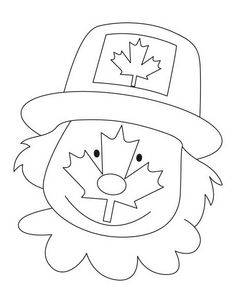 236x303 Canada Day Coloring Pages 2014 Canada Day 2014 Kid