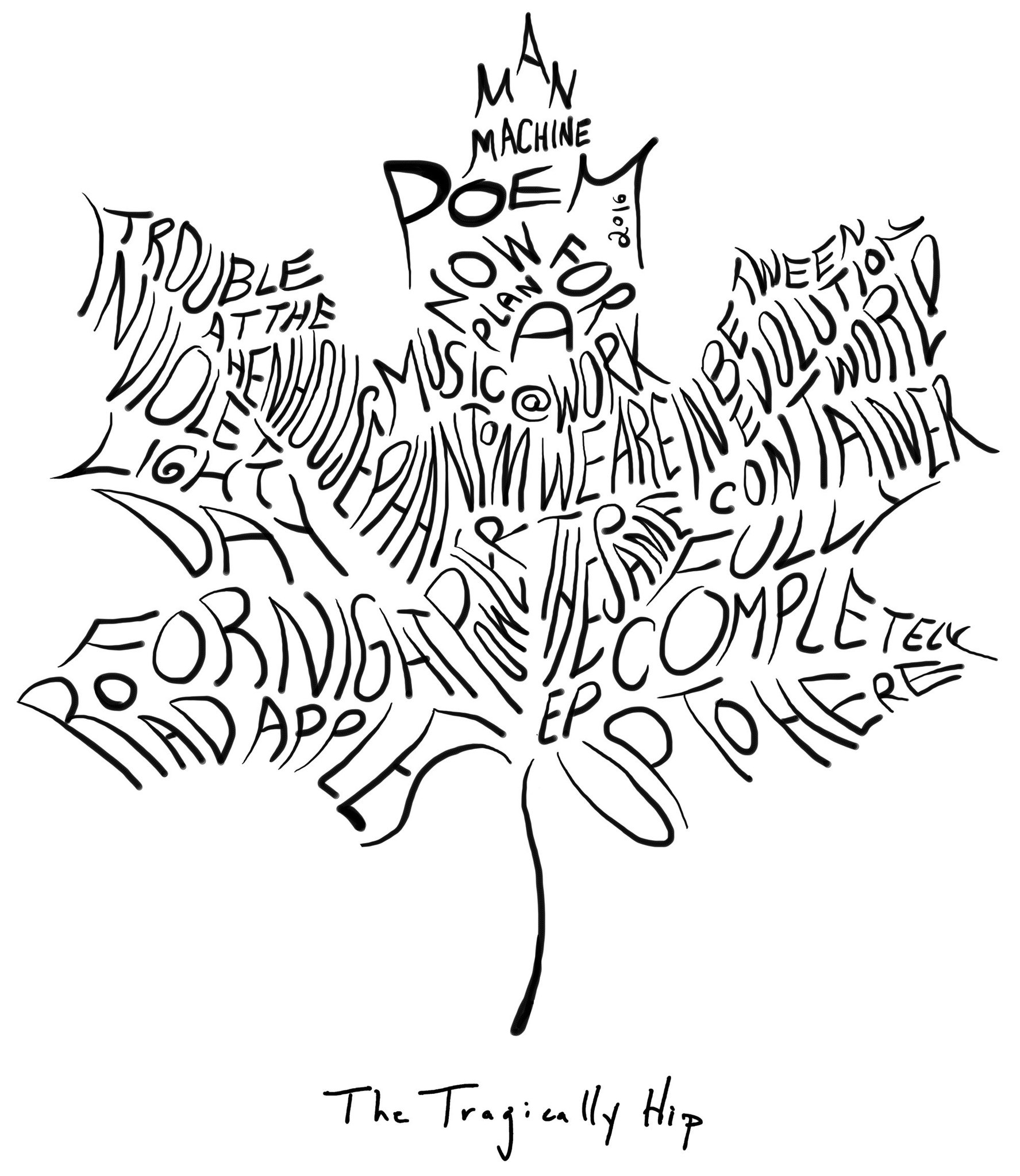 1775x2048 Canada Today Gord Downie From The Outside Looking