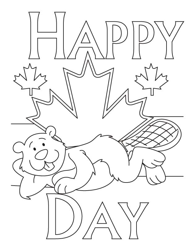 630x810 187067 Canada Day Coloring Pages For Kids