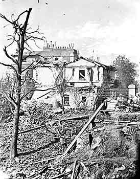 274x350 Photo London Archive Regent Canal Barge Explosion, Regents Park