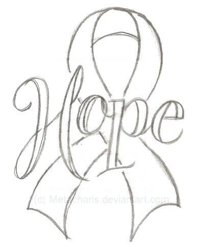 400x482 Cancer Ribbon Coloring Page Ingenious Design Ideas Cancer Ribbon