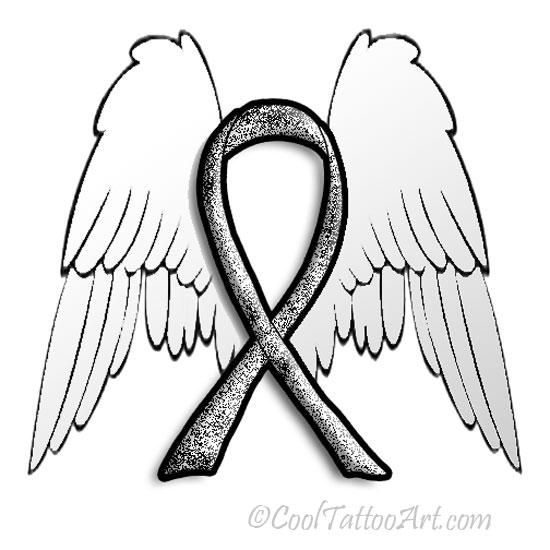 550x550 Cancer Ribbon Tattoos Art Designs Cooltattooarts