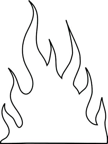 360x480 Flames Coloring Pages Candle Flame Coloring Pages Coloring Pages