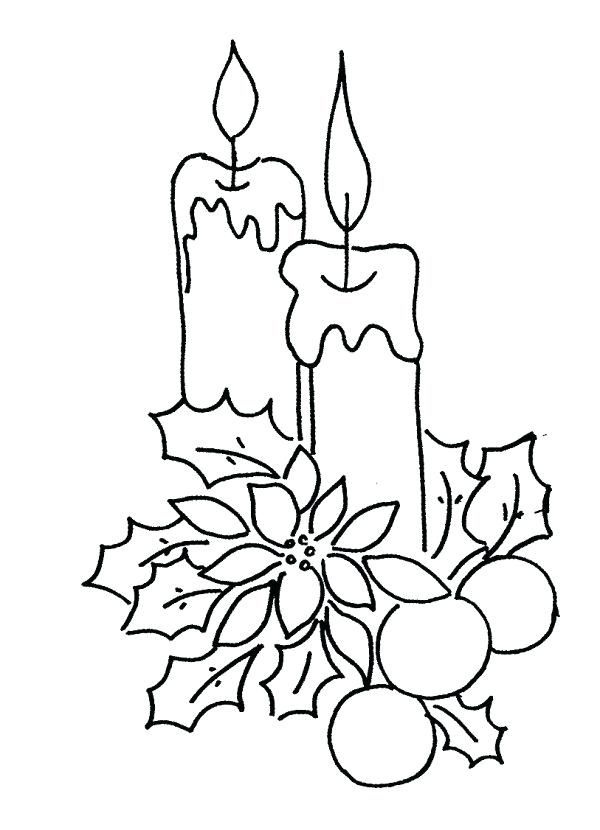 600x830 Candle Coloring Page Large Size Of Coloring Pages Of Candles Free