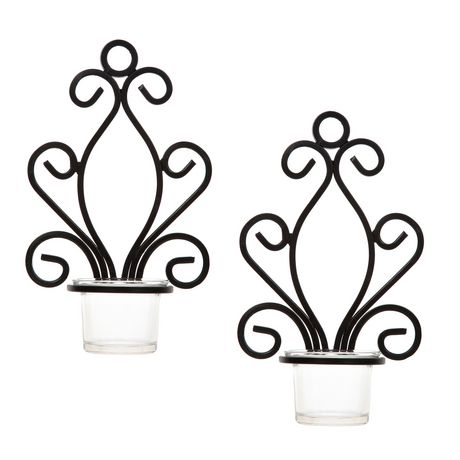 460x460 Hometrends Wall Sconce Candle Holder Giftbox Walmart Canada