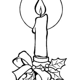 268x268 Coloring Pages Candlestick Kids Drawing And Coloring Pages