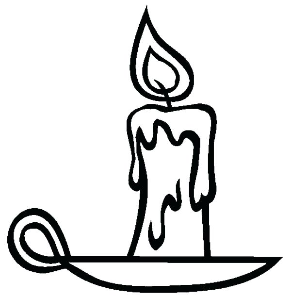 600x612 Candle Coloring Unique Candle Place Coloring Pages Advent Candle