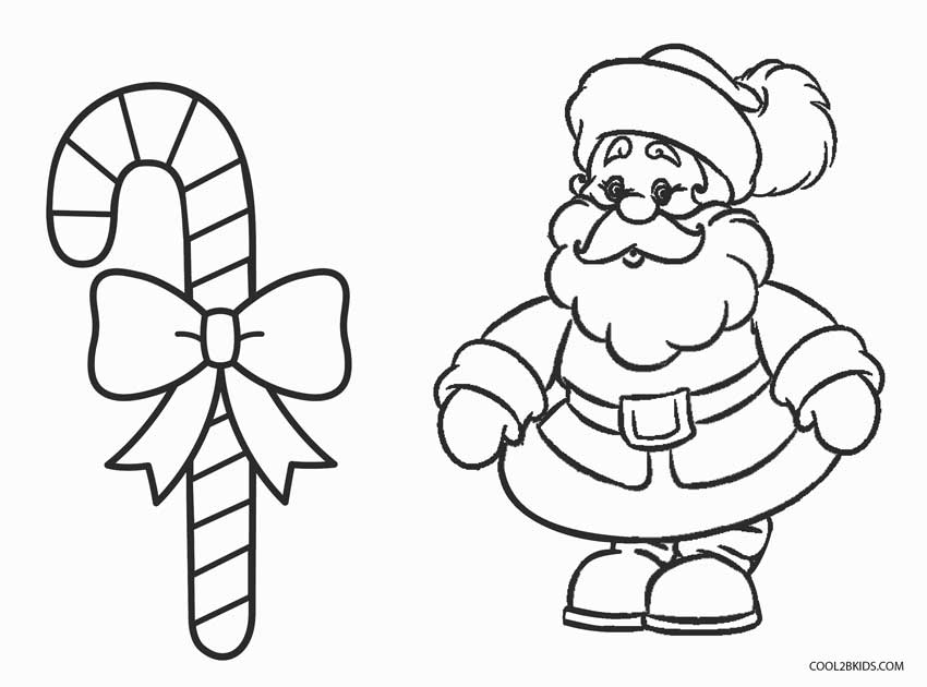 850x630 Free Printable Candy Cane Coloring Pages For Kids Cool2bKids