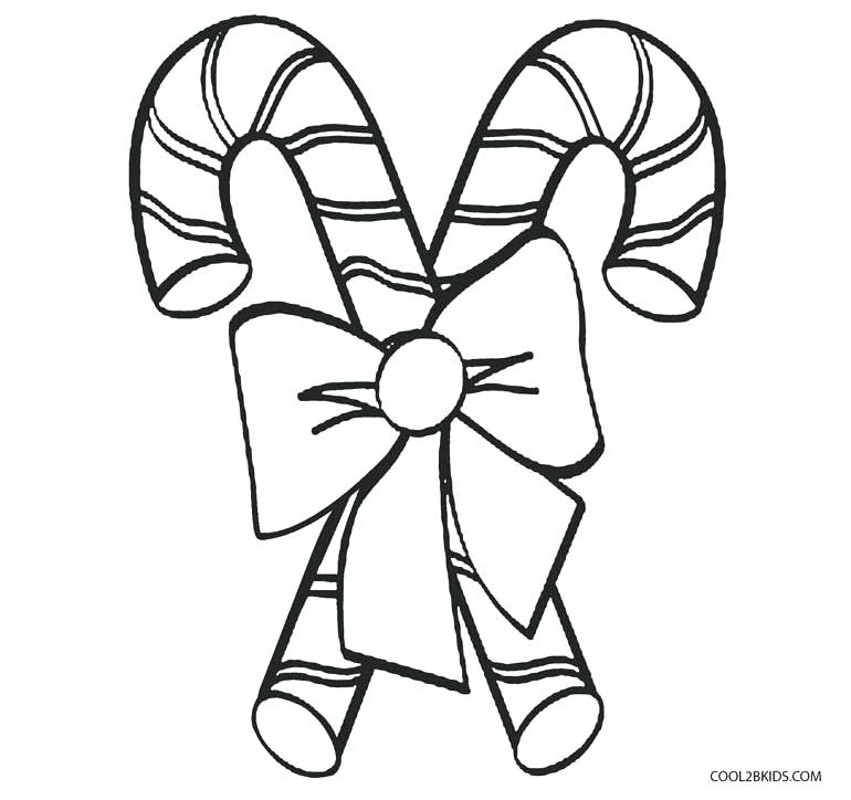 770x724 Candy Cane Coloring Page Candy Canes Coloring Pages Candy Cane