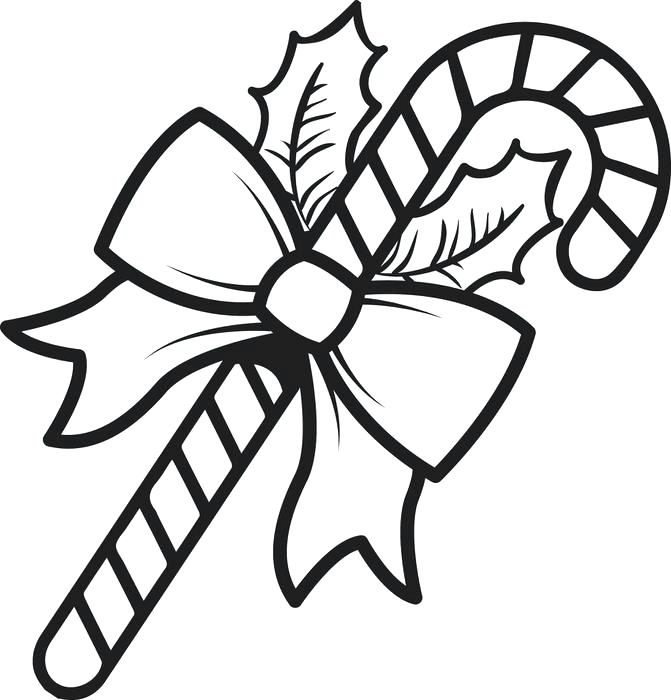 671x700 Candy Cane Coloring Pages Drawing Stockings Fill With Candy Cane
