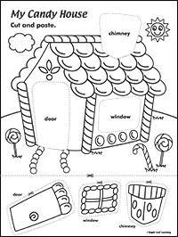 200x266 Candy House Activity Maple Leaf Learning Library