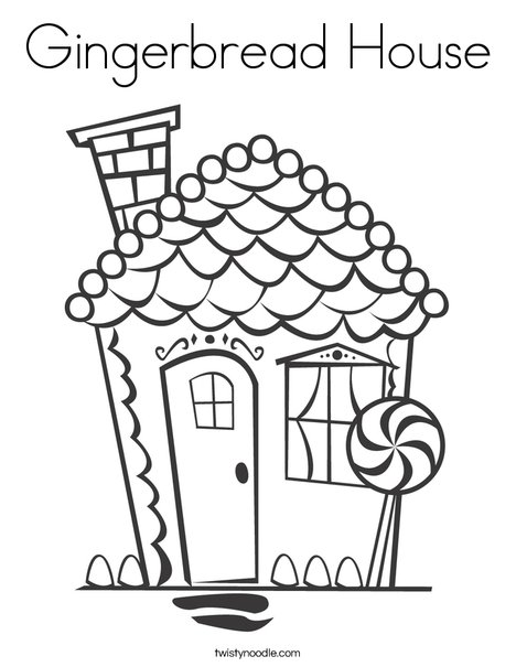 468x605 Candy Houses Coloring Pages