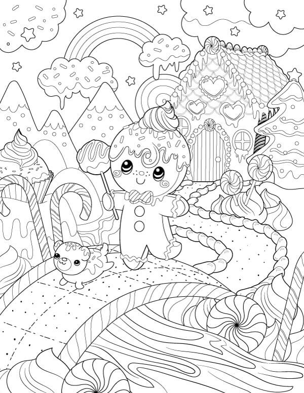 Candyland Drawing at GetDrawingscom Free for personal use