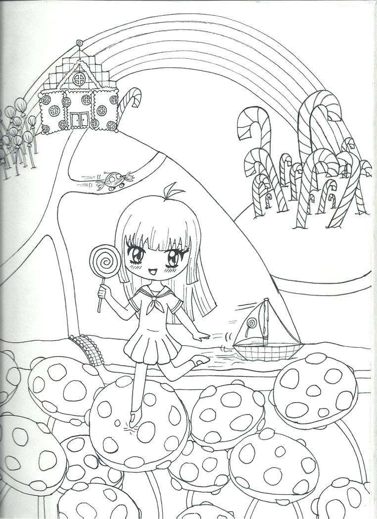 Candyland Drawing At Getdrawings Com Free For Personal Use