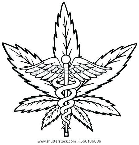 Cannabis Drawing