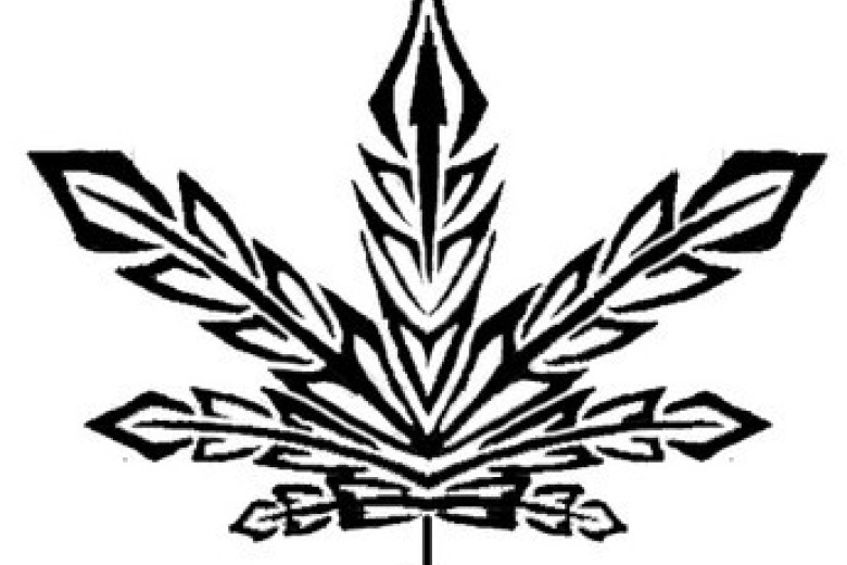 780x520 Free Tattoo Marijuana Tribaljpg Phone Wallpaper By Cacique, Pot
