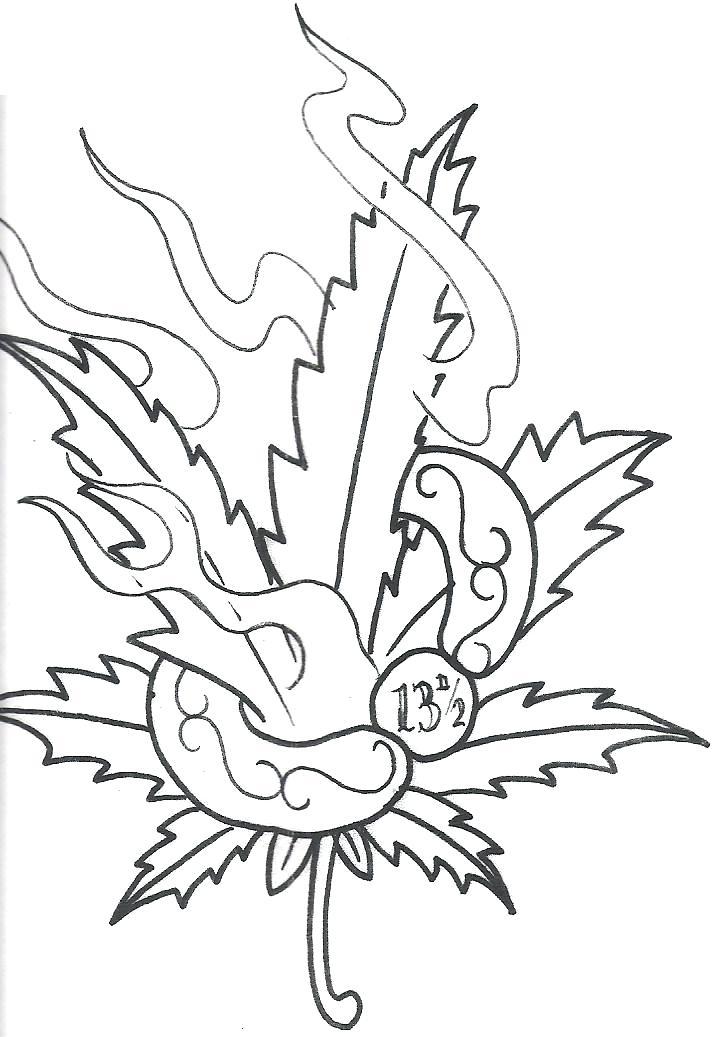 723x1037 Marijuana Coloring Pages Pot Leaf Coloring Page Marijuana Leaf
