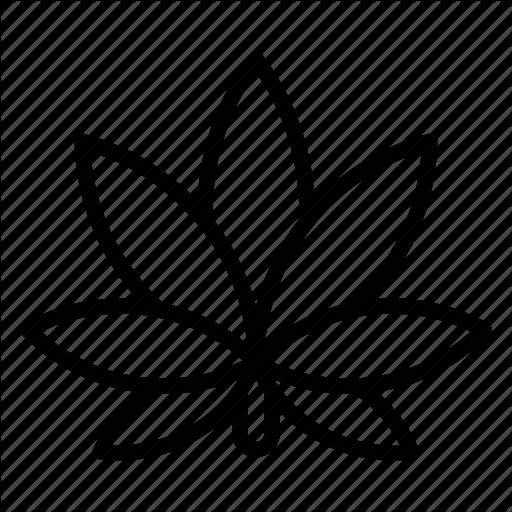 512x512 Cannabis, Drugs, Flower, Leaf, Marijuana, Medical, Plant Icon