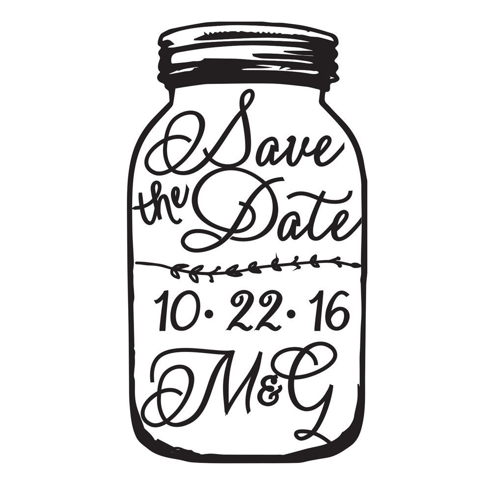 1000x1000 Country Canning Jar Invitation Invitations By Dawn