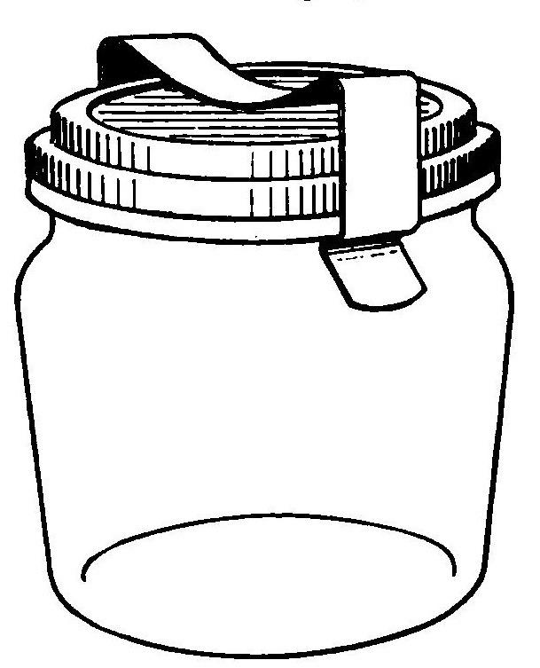 609x753 Reading, Roses Amp Prose Classic Canning Jars Clip Art