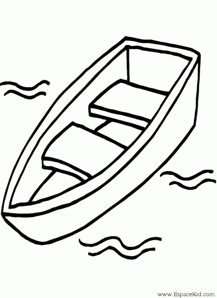 700x962 Small Boat Canoe