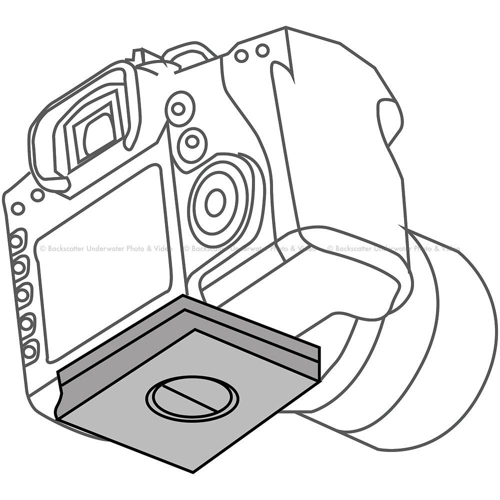 1000x1000 Nauticam Na 7d Housing Replacement Camera Tray For Canon 7d Camera