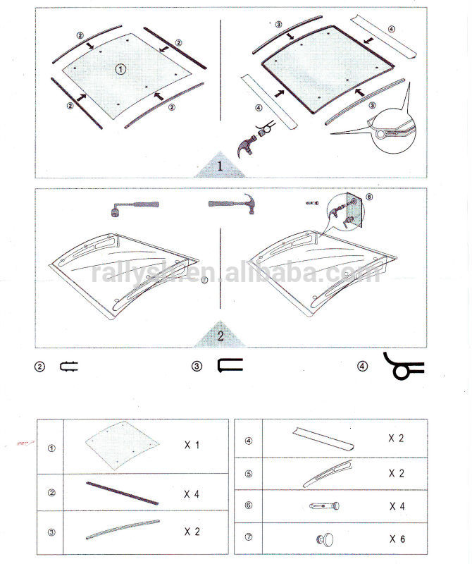 670x800 Clear Awnings,canopy Designs,clear Plastic Awnings