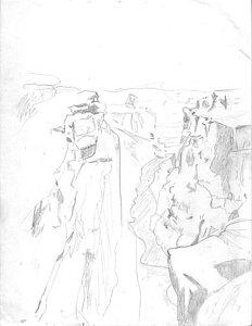 232x300 Grand Canyon Drawings