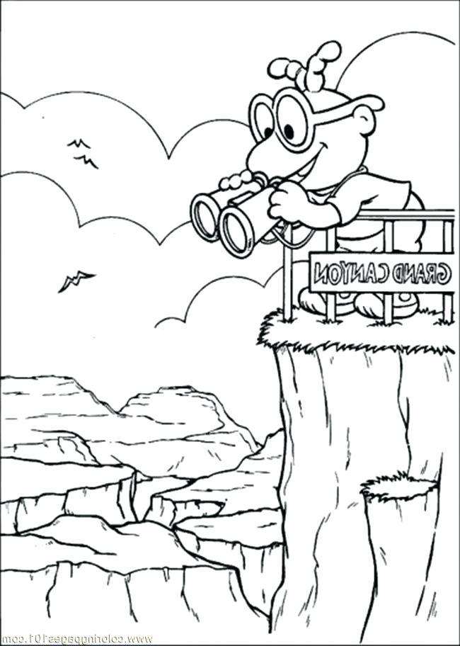 650x912 Landforms Coloring Pages Canyon Coloring Pages Printable Landform