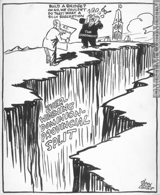 315x385 M965.199.1117 Our Own Grand Canyon. Drawing, Cartoon John