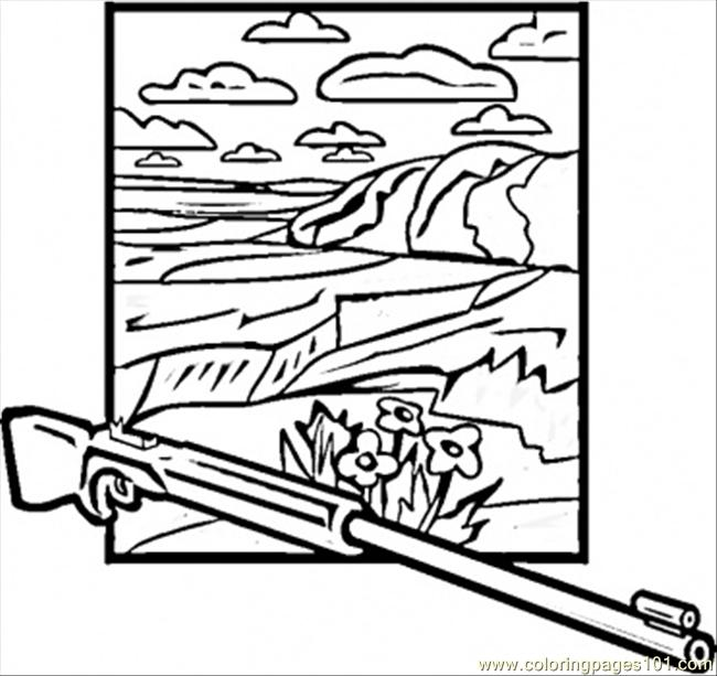 650x613 Canyon Coloring Page