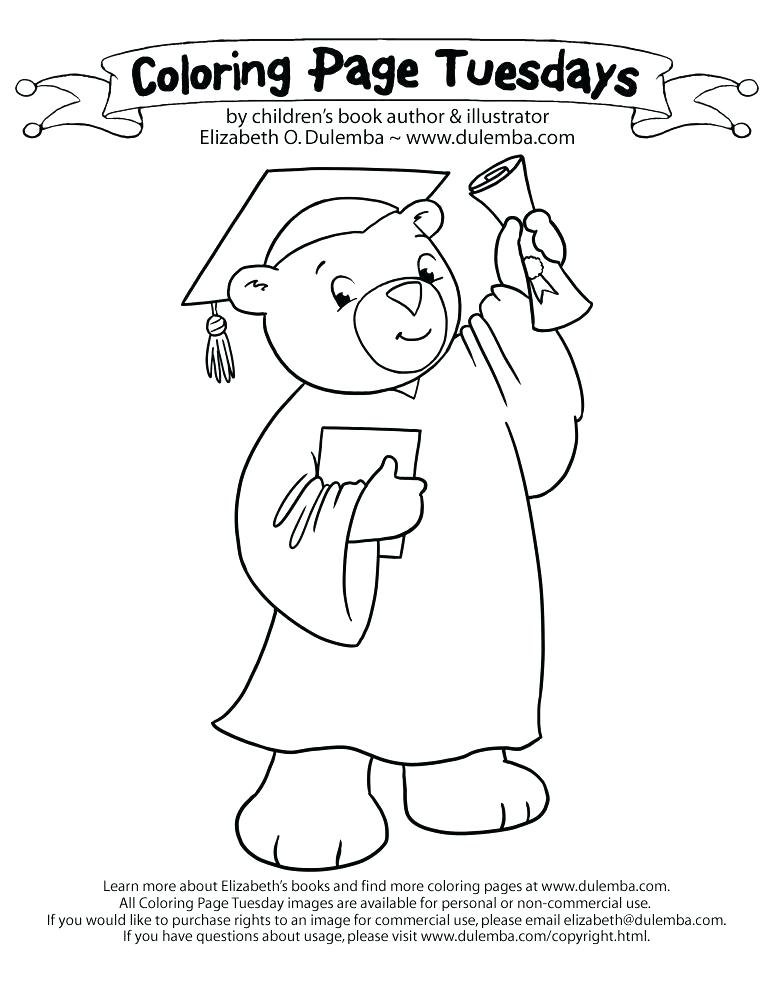 Cap And Gown Drawing at GetDrawings