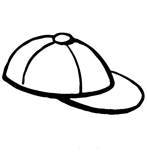 cap coloring page - cap drawing images at free for personal