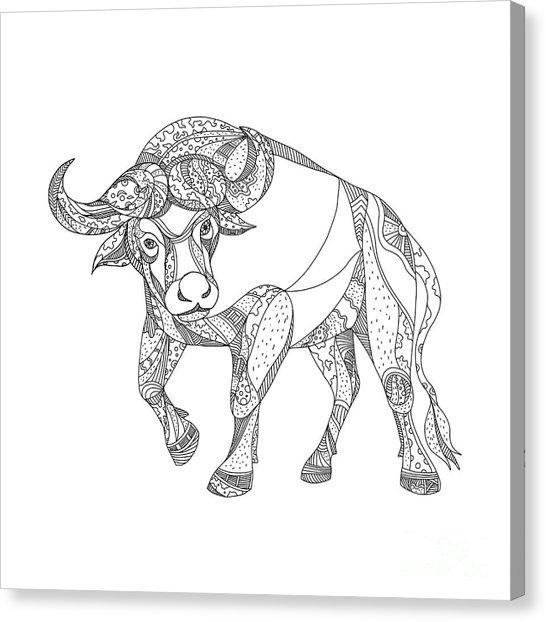 546x622 Cape Buffalo Art