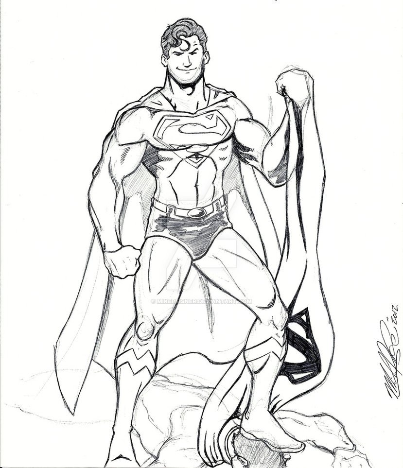 829x963 Body Armor And A Cape Make You Superman By Mikereisner