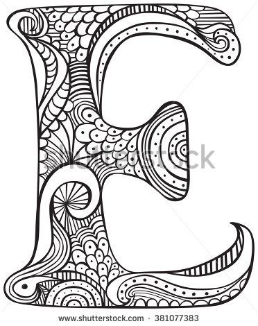 372x470 Image Result For Free Colouring Pages Adults Letters Elaine