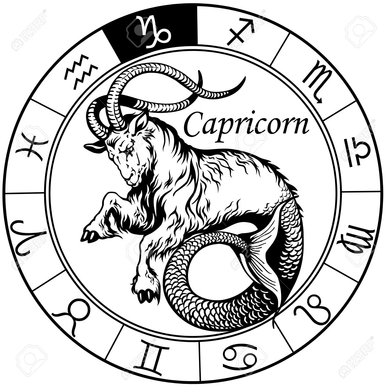 1300x1300 Capricorn Stock Photos. Royalty Free Business Images