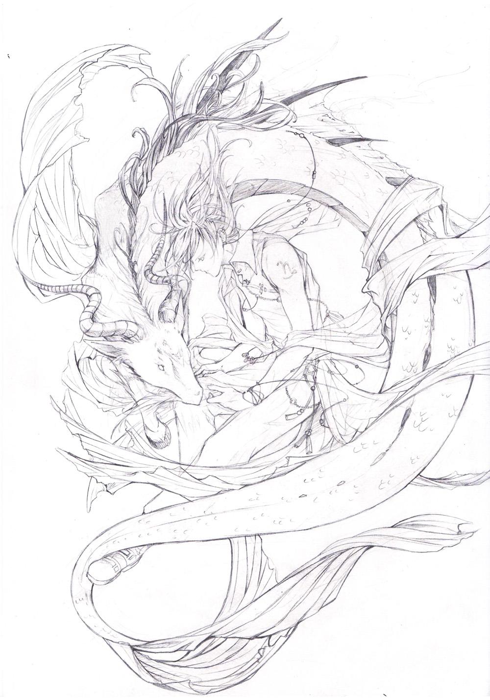 1000x1429 Capricorn Sketch By Chocobikies
