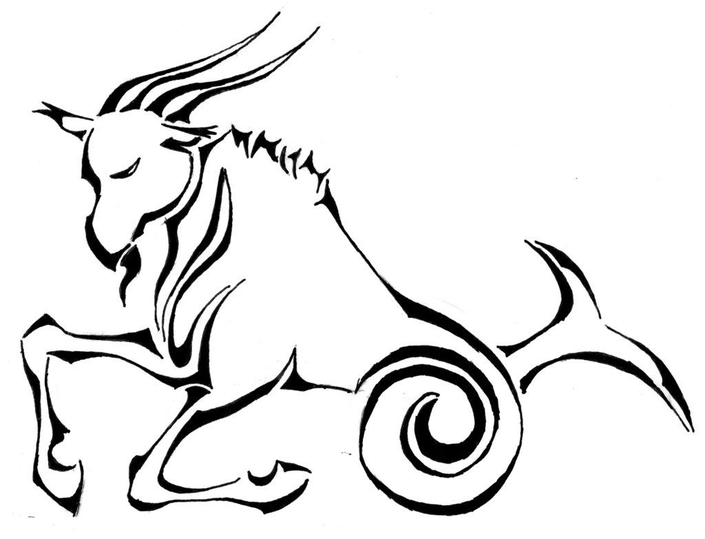 1024x783 Capricorn The Goat By Giyvin