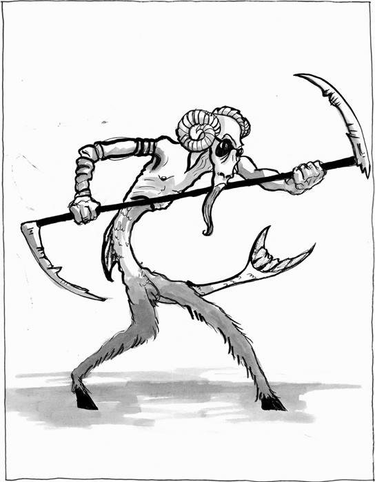 544x700 Goatman Demon Of Capricorn By Mckell