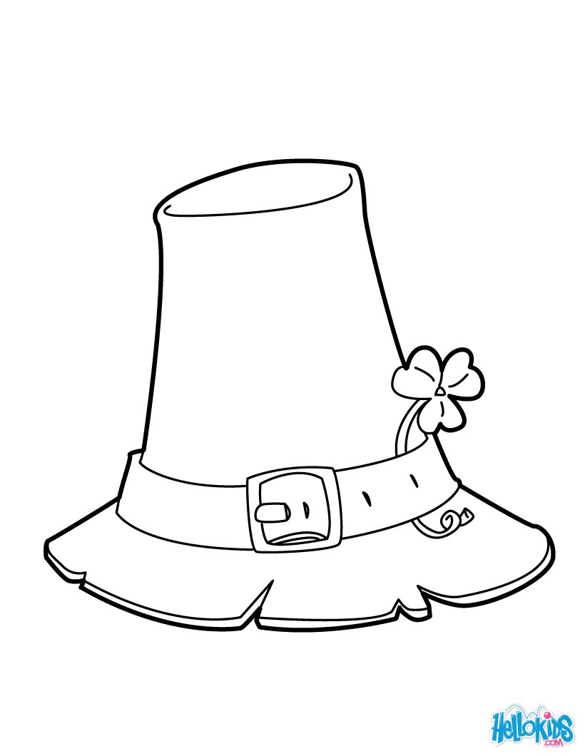 820x1060 Hat Coloring Pages, Kids Crafts And Activities, Drawing For Kids