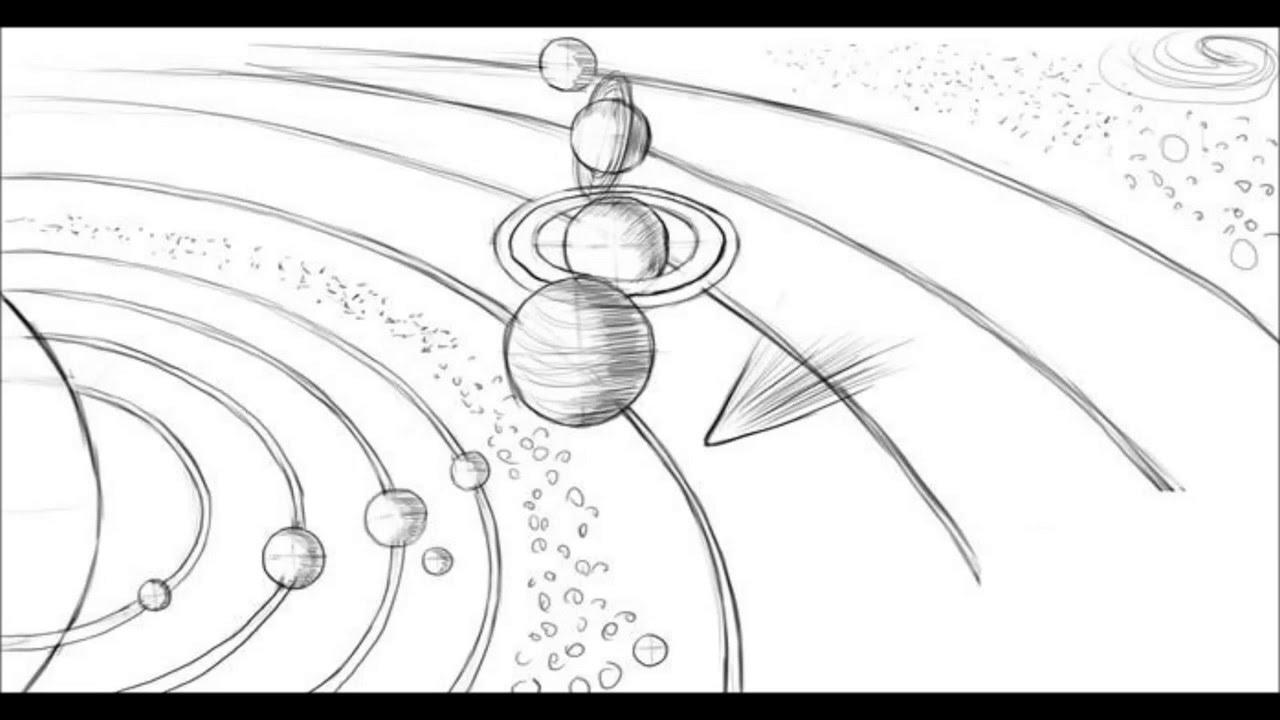 1280x720 How To Draw Solar System