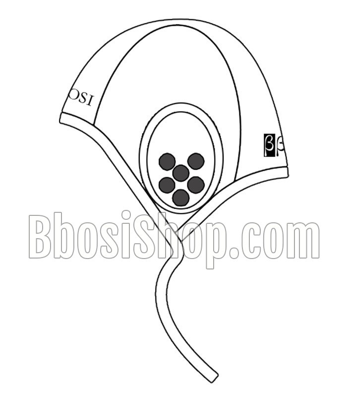 700x800 Waterpolo Cap Basic White