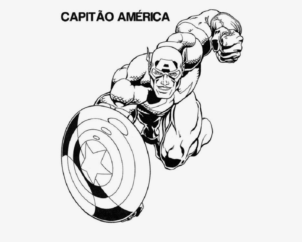 1028x823 Colour Drawing Free Wallpaper Captain America For Kid Coloring